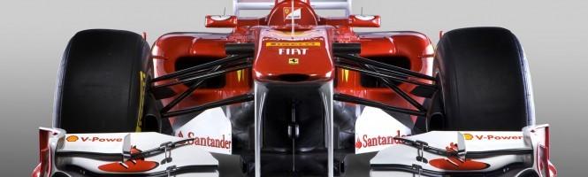 F1 2011 au lancement de la PSVita