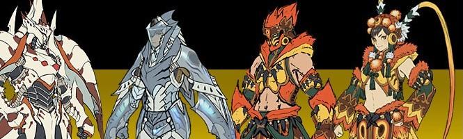 Monster Hunter 4 s'illustre