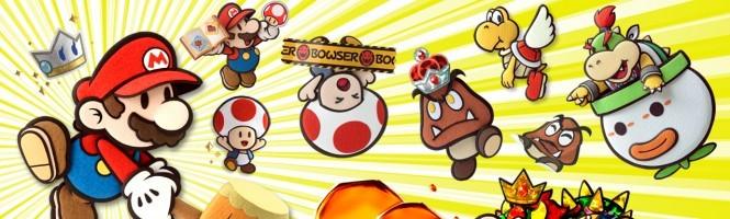 Une date pour Paper Mario 3DS