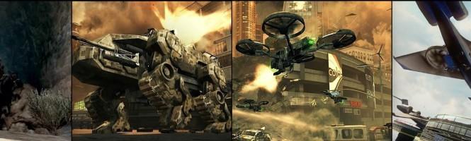 Omar Sy : homme sandwich pour COD Black Ops II