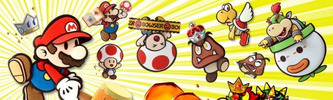 Paper Mario : Sticker Star en images
