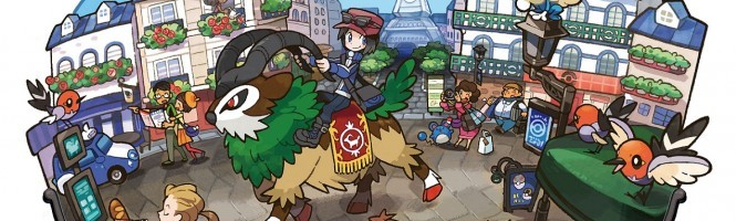 Nymphali, le Pokemon X/Y s'illustre