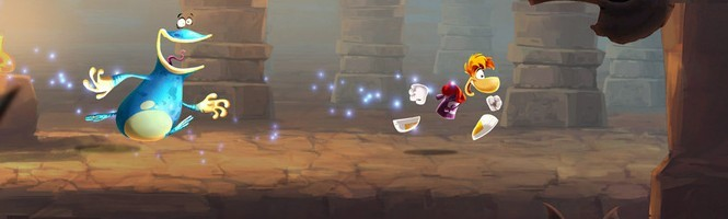 Rayman Legends se mouille