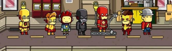 Scribblenauts Unmasked : Mode Hero Creator en vidéo