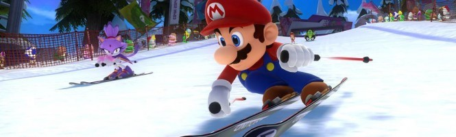 Un trailer pour Mario & Sonic aux Jeux Olympiques de Sotchi