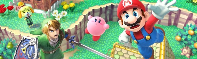 Super Smash Bros. Wii U s'illustre