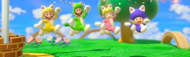 Un long trailer pour Super Mario 3D World