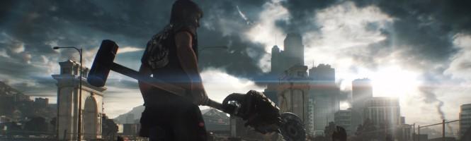 L'armure de MegaMan dans Dead Rising 3