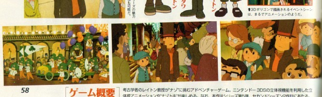 Layton VS Ace Attorney daté
