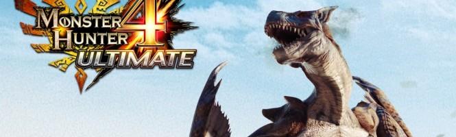 Monster Hunter 4 Ultimate en octobre au Japon