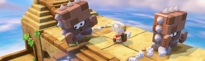 Captain Toad en retard en Europe
