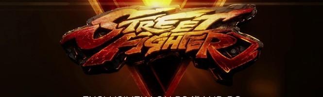Street Fighter V exclu PS4 et PC