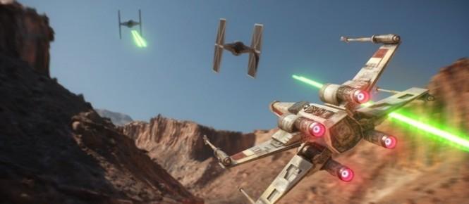 Star Wars Battlefront : la vue FPS et TPS en image