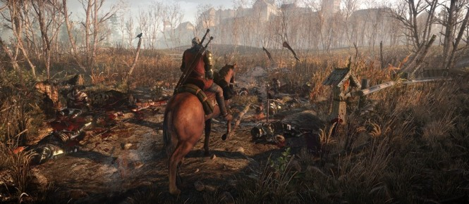 The Witcher III : Wild Hunt met en avant Geralt