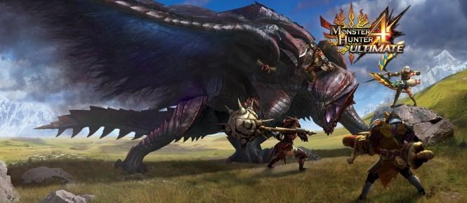 Plus de 3 millions de Monster Hunter 4 Ultimate distribués