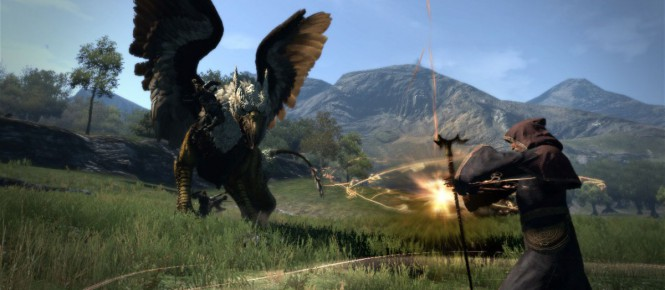 Du cross-play pour Dragon's Dogma Online