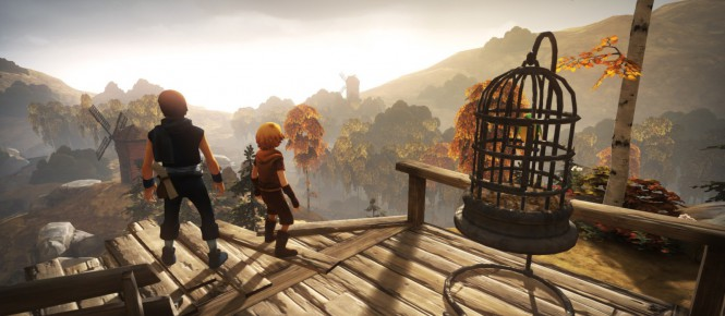Brothers : A Tale of Two Sons : des portages en pagaille