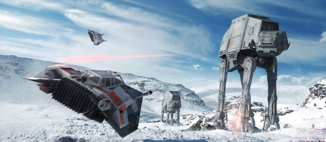 [E3 2015] Le gameplay de Star Wars : Battlefront est là !