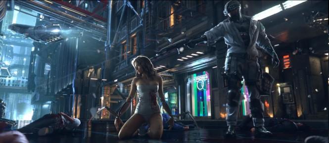 CD Projekt : Cyberpunk 2077 avance bien