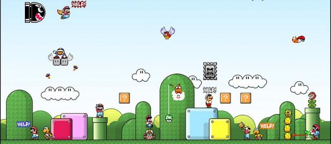Finir Mario sans les yeux, c'est possible !