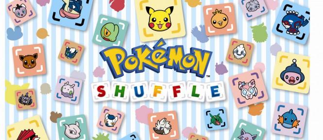 Une mise à jour pour Pokémon Shuffle