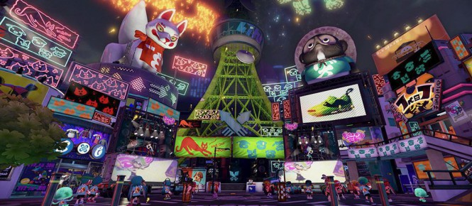 Splatoon : Le Splatfest va commencer !!