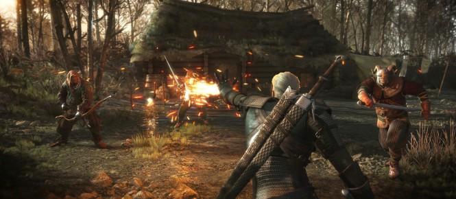 2.2 Go de patch pour The Witcher 3
