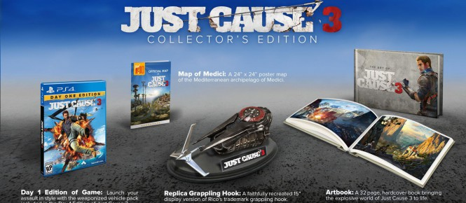 Un collector pour Just Cause 3