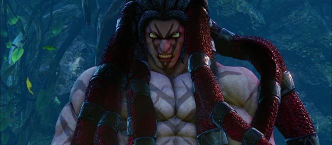 Street Fighter V : Necalli ou les cheveux rouges aztèques