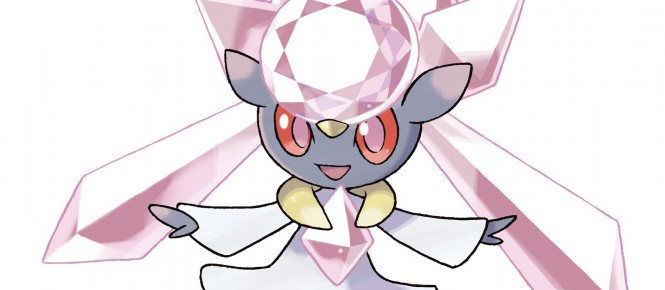Pokémon RO/SA : distribution de Diancie