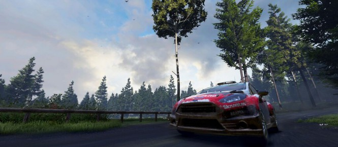 WRC 5 : La Ford Fiesta RS WRC en action