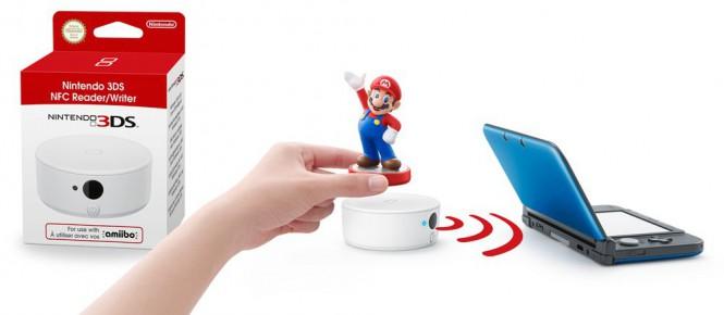 3DS : le lecteur Amiibo arrive en octobre