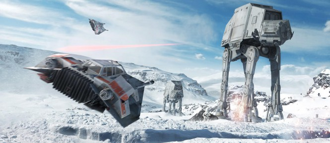 Star Wars : Battlefront : Le Fighter Squadron sera présent