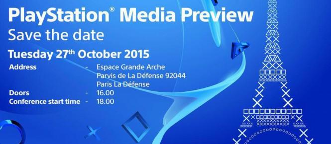 La conférence PlayStation de la Paris Games Week datée