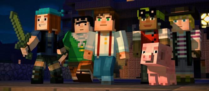 Minecraft Story Mode aussi sur Wii U