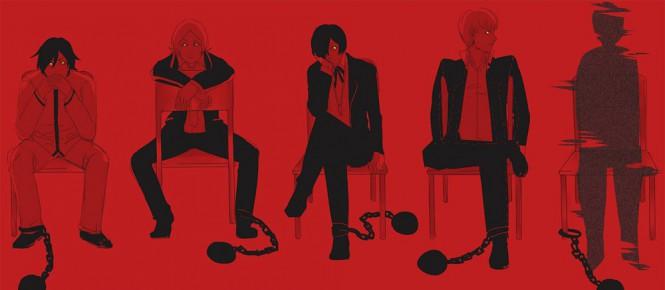 [TGS 2015] Persona 5 repoussé