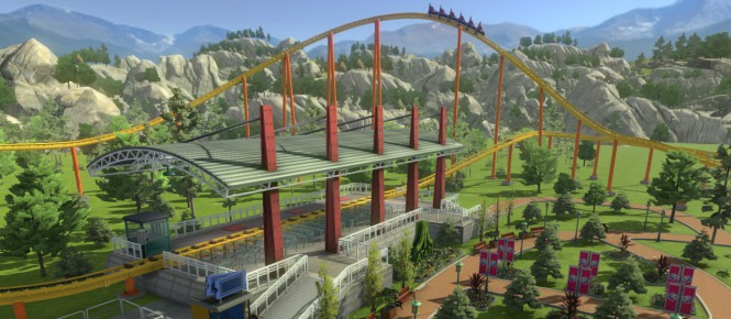 Une date pour RollerCoaster Tycoon World