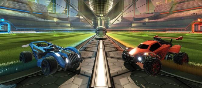Un DLC Retour vers le Futur pour Rocket League