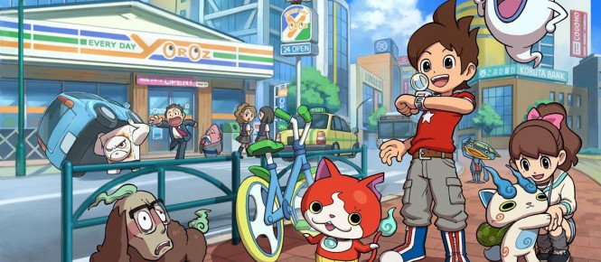 USA : un bundle 2DS pour Yôkai Watch