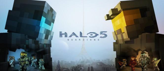 Des skins Halo 5 pour Minecraft