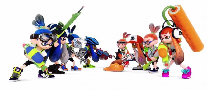 Splatoon : un bundle au Japon