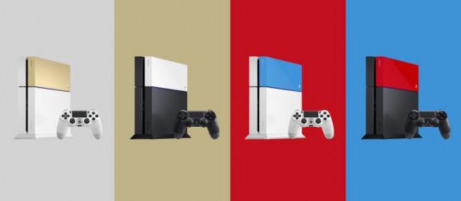 De nouvelles couleurs pour la PS4