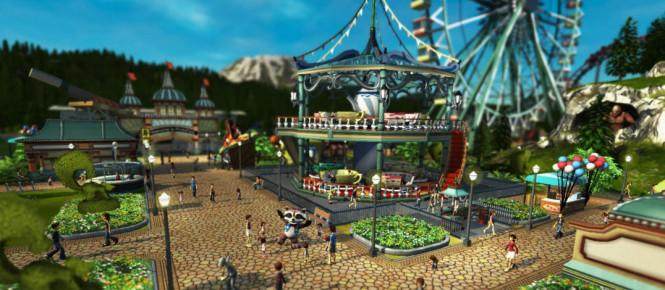 Une date pour la bêta de Rollercoaster Tycoon World
