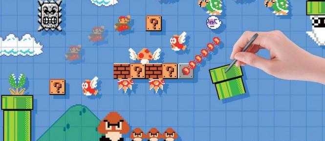 Super Mario Maker : la MàJ est arrivée