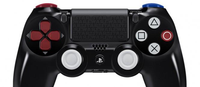 PS4 : une date pour la manette Dark Vador