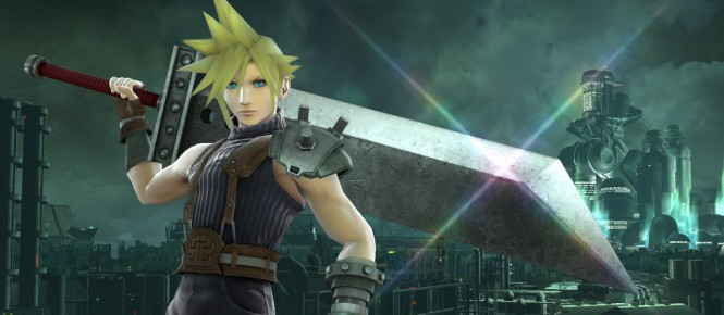 Cloud (FF VII) rejoint Super Smash Bros.