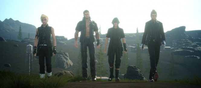 FF XV : pas de ''vrai'' open world, mais...