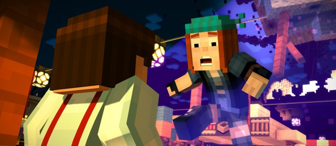 La Wii U accueille Minecraft Story Mode