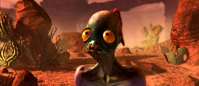 Oddworld New'n'Tasty sur Vita aujourd'hui