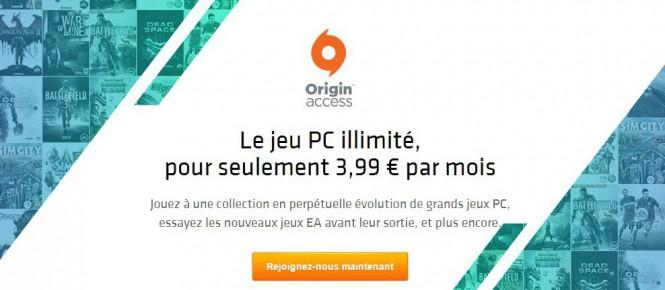 La France accueille Origin Access